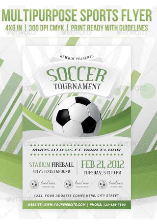 Multipurpose Sports Event Flyer
