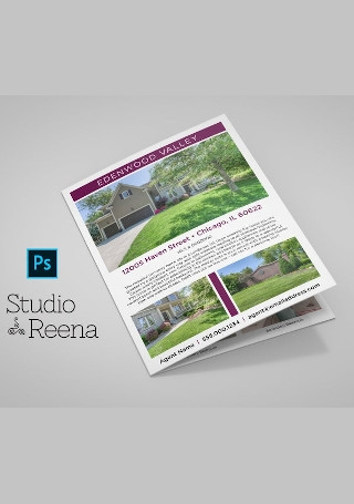 Real Estate Bifold Brochure