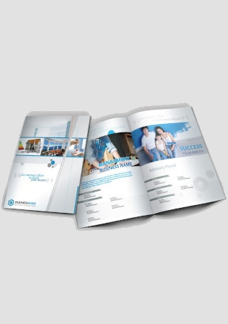 Real Estate Company Brochure Bi Fold