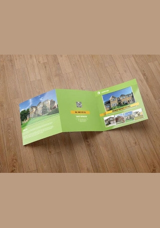 Real Estate Company Brochure InDesign