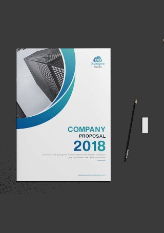 Retro Company Profile Brochure