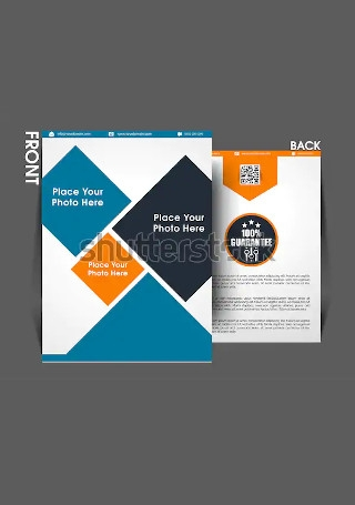Retro Marketing Brochure InDesign