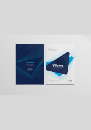 Sample Business Brochure in Vector EPS