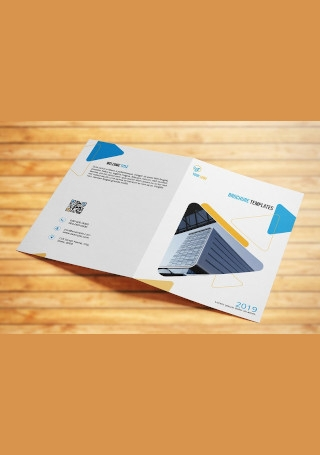 Sample Corporate Business Brochure InDesign
