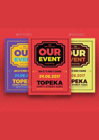 Sample Event Flyer