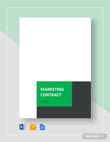 Sample Marketing Contract