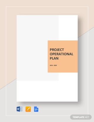 Sample Project Operational Plan