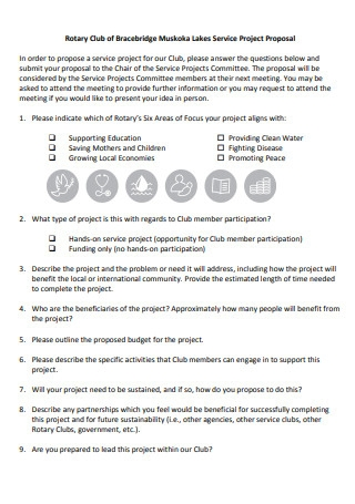 Sample Project Proposal in PDF