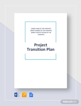 Sample Project Transition Plan