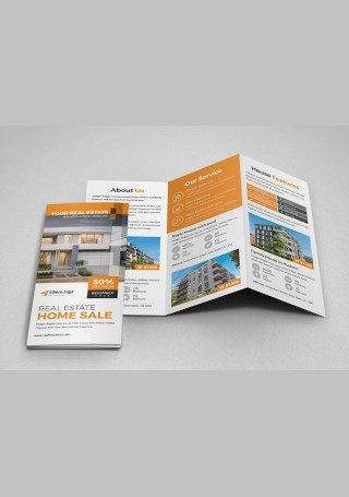 Sample Real Estate Trifold Brochure