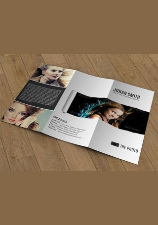 Sample Trifold Marketing Brochure Template
