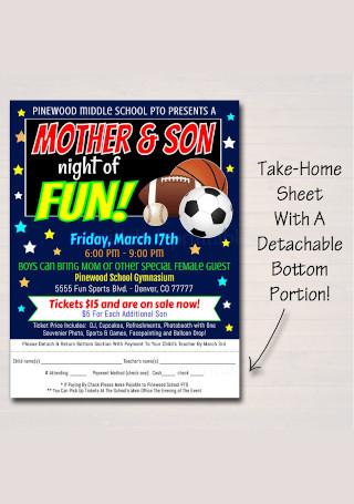 School Event Flyer