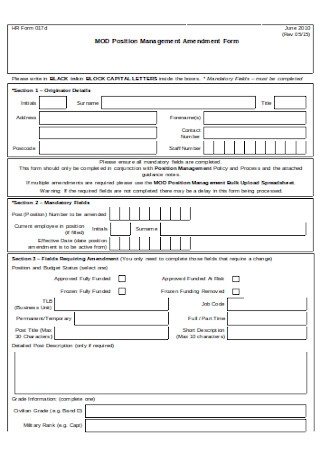 Simple HR Form