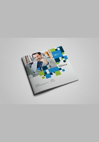 Square Business Brochure InDesign