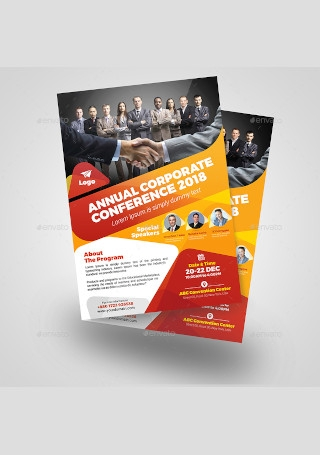 Annual Corporate Conference Flyer