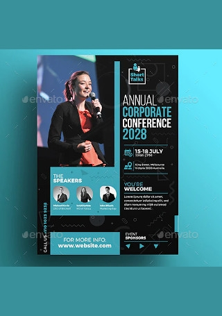 Annual Corporate Conference Flyer1