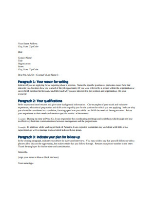 Basic Internship Letter of Recommendation