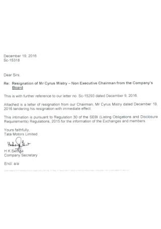 Basic Resignation Letter1