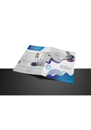Business Brochure in Vector EPS