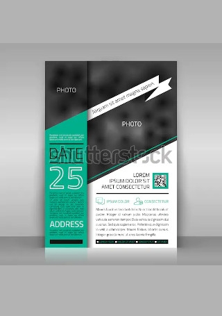 Business Invitation in Vector EPS1