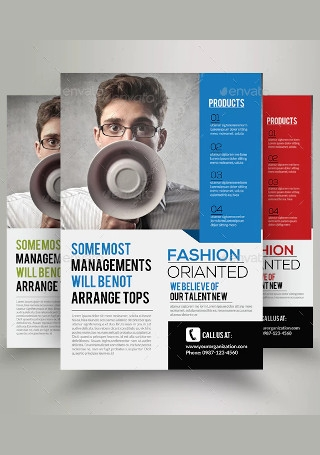 Business Marketing Consultant Flyer
