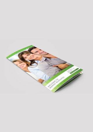 Business Marketing Trifold Brochure