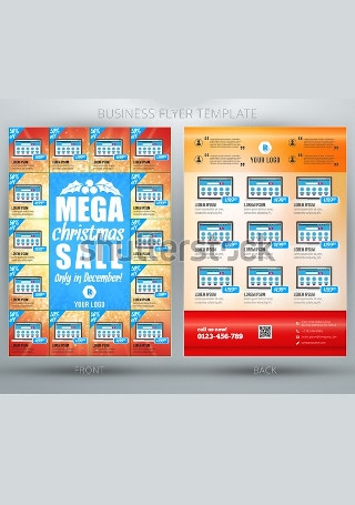 Business Sale Flyer InDesign