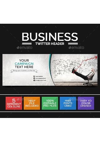 Business and Marketing Twitter Header