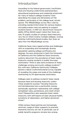 California Community Colleges Real College Survey
