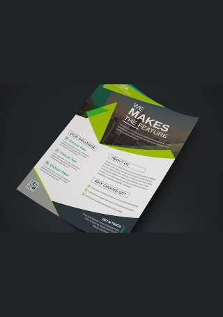 Classic Corporate Business Flyer Sample