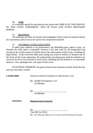 Commercial Lease Agreement Sample1
