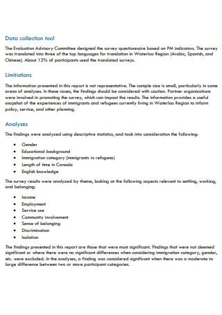 Community Survey Full Report