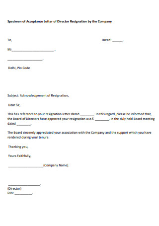 Board Of Directors Resignation Letter Template from images.sample.net