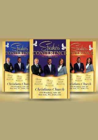Conference Church Flyer