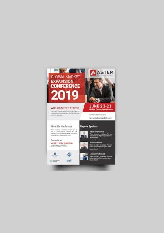 Conference Flyer Sample