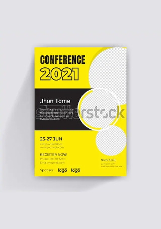 Conference Flyer in Vector EPS1