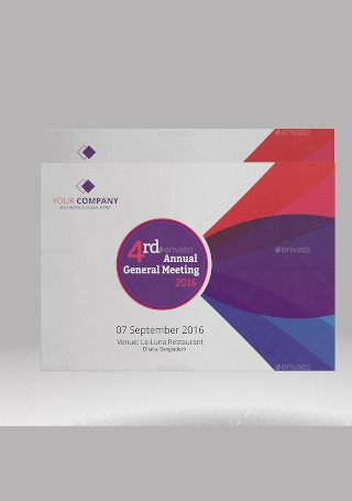 Corporate Business Annual Meeting Invitation