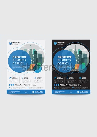 Corporate Business Flyer InDesign