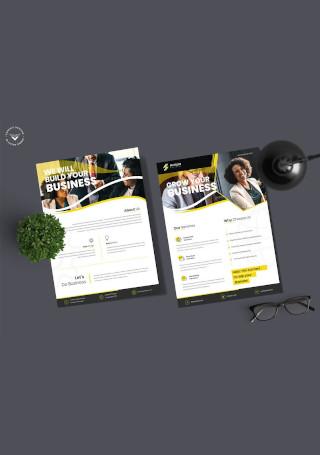 Corporate Business Invitation Sample