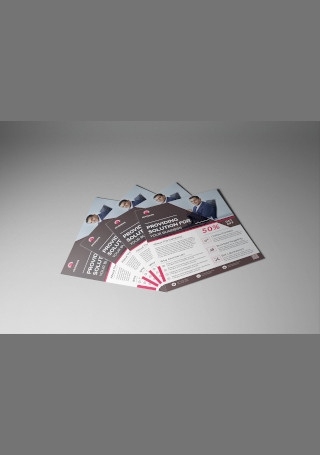 Corporate Business Solution Flyer