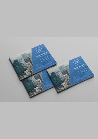 Corporate Company Brochure in Vector EPS