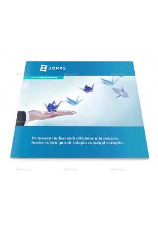 Corporate Company Square Brochure