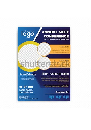 Corporate Conference Flyer Sample
