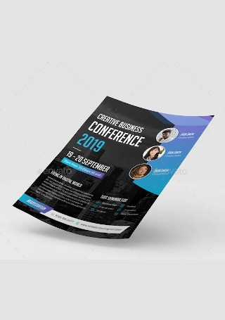 Creative Business Conference Flyer1