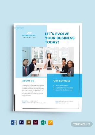 Creative Business Flyer Template1