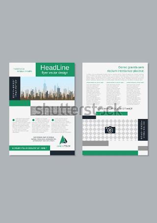 Creative Business Flyer in Vector EPS1
