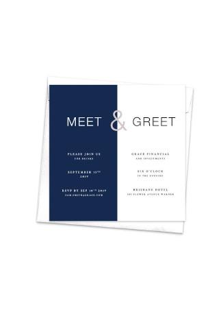 Creative Business Invitation InDesign
