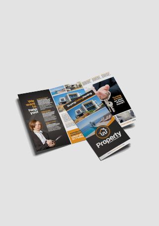 Creative Real Estate Tri Fold Brochure