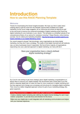 Digital Marketing Strategy Planning