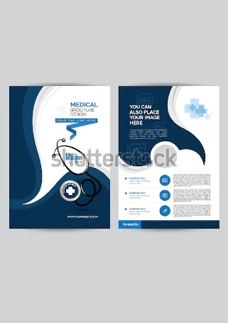 Elegant Medical Brochure Sample